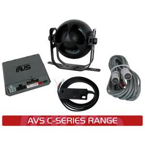 AVS C5 Digital Car Alarm Installed