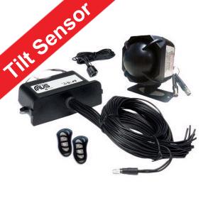 AVS S5 Car Alarm Including The Digital Tilt Sensor For Wheel & Tow Protection Installed