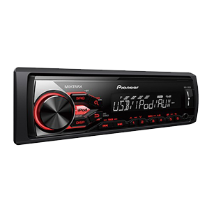 Pioneer MVH-185UI Car Stereo with AUX Input for iPod/iPhone Direct Control