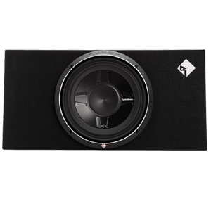 "Rockford Fosgate P3S-1X12 Single P3 12"" Shallow Loaded Enclosure"