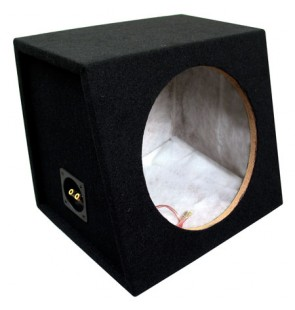 12″ Carpeted Sealed Sub Box