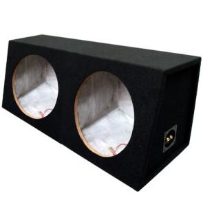 12″ Dual Carpeted Sealed Sub Box