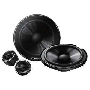 "Pioneer 6"" TS-G1605C Component Speakers"