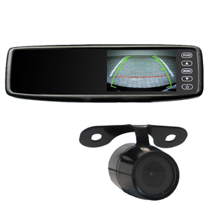 4.3″ Rear View Mirror Monitor With Camera